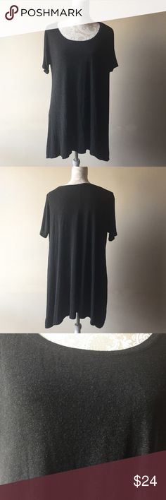 Brandy Melville shirt dress Gently used condition. The material has an intentionally pilled appearance to it. Very stretchy and soft. Can be worn as a dress or tunic. One size fits most Brandy Melville Dresses