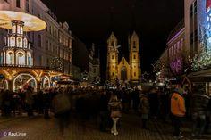 Altstadt Hof zu weihnachten