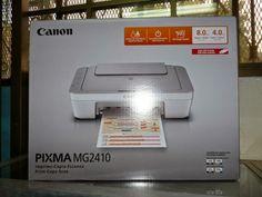 Resetear Impresora Canon MG2410 eliminar error P07 / E08 — almohadillas de impresión llenas        |         es.Rellenado Canon, Electronics, Cannon, Consumer Electronics