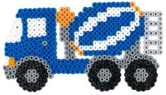 Contruction vehicle Hama beads - 3143 HAMA