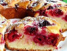 Быстрый вишневый пирог. Семья будет довольна! | вкусный блог | Яндекс Дзен