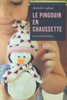 Le pingouin en chaussette (l'art est un jeu d'enfant #1) – Rainbows etc Christmas Stockings, Holiday Decor, Blog, Recycling, Needlepoint Christmas Stockings, Blogging, Christmas Leggings, Stockings