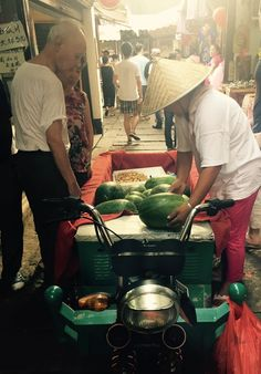 Watermelons in Zhujiajiao 朱家角: