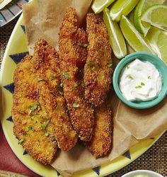 Cornmeal Crusted Fish.