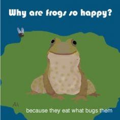 frog joke lunch note