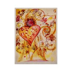 "Marianna Tankelevich ""Tree of Love"" KESS Naturals Canvas (Frame not In 