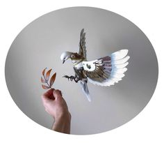 Fully articulated metal dove of peace by Igor Verniy. Steampunk Emporium, Steampunk Animals, Gothic Revival Architecture, Mechanical Art, Animal Sculptures, Bird Sculpture, Metal Sculptures, Estilo Retro, Magical Girl