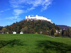 climb the fortress in salzburg Salzburg, Movies And Tv Shows, Climbing, Movie Tv, Golf Courses, Mansions, House Styles, Austria, Manor Houses
