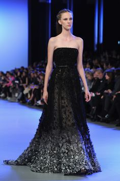 Couture Week Fugs and Fabs: Elie Saab Elie Saab : Runway - Paris Fashion Week - Haute Couture S/S 2014 – Go Fug Yourself