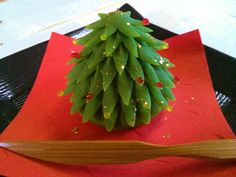 Christmas Tree Wagashi