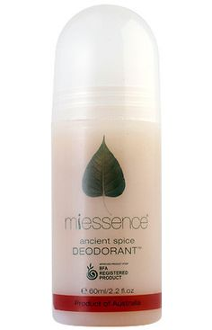 Miessence Organic Ancient Spice Roll-on Deodorant. $10.35