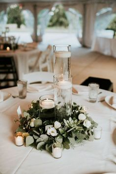 Budget Friendly Wedding Trend: 24 Greenery Wedding Decor Ideas ❤ See more: http://www.weddingforward.com/greenery-wedding-decor/ #weddings