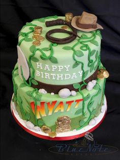 Indiana Jones Birthday Adventure | Blue Note Bakery - Austin, Texas