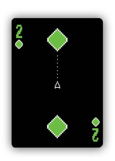 8-Bit Bicycle© Playing Cards  #awesome
