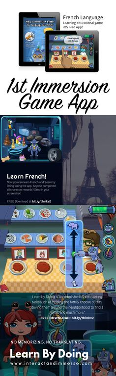 French Teacher, Teaching French, French For Beginners, French Classroom, French Resources, French Immersion, Learn A New Language, French Lessons, Educational Games