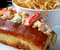 Lobster Roll's are a must when visiting New England... usually can't wait that long & have to make them at home in between trips.  These guys are just amazing deliciousness!