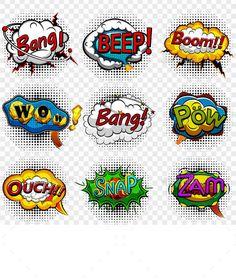 Comic Speech Bubbles - Decorative Symbols Decorative Download here : https://graphicriver.net/item/comic-speech-bubbles/19811890?s_rank=94&ref=Al-fatih