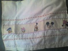 Patrones para sabanitas de bebé en punto de cruz - Imagui