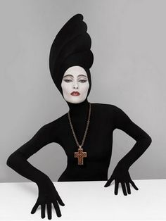Serge Lutens - fantastique French surrealist fashion photographer, designer, film maker, and all around amazing artist!