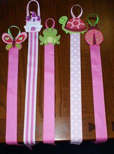 Display Hair Bow Holder | Decorative Hair Bow Holders by JadyBugBows on Etsy
