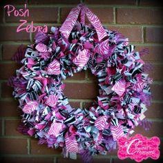 so so cute.. baby girl wreath