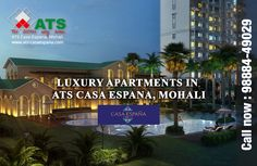 Book 4 #BHK + Servant #Room Flat luxury premium villas,apartments and flats projects in #Mohali Contact: 9888449029