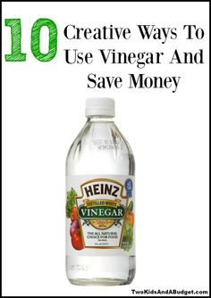 different ways of using vinegar Watch video 28 ways to use vinegar around your house   using a sponge or  first soak them for a few minutes in white distilled vinegar related: 23 ways to clean your.