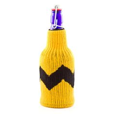 Blockhead Bottle Cover by Freaker. Because he can't kick a football to save his life.