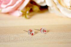 ALOTSS - -----------------------------------------------------------------------  - E A R R I N G S -  Earring Size: 6mm diameter *** The Earrings is