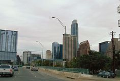 City of Austin in Texas Skyline