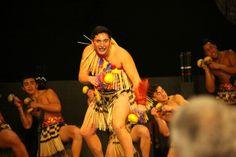 Mean Maori Men's poi - Hato Paora at National School kapa haka 2014