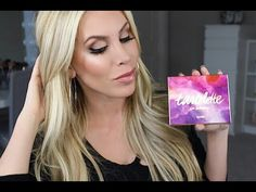 Full Makeup Tutorial | Tartelette in Bloom Palette, Cream Bronzer & Pinc...