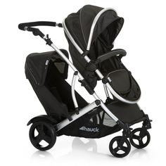 The Hauck Duett Twin 2 Pushchair is an extremely compact twin stroller that features a wide range of configurations. Buy yours in Black here today!