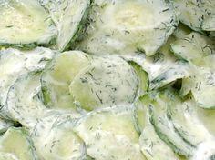 Romige Komkommersalade Met Verse Dille recept   Smulweb.nl