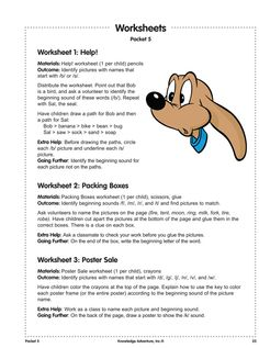 Beginning Consonants - Free Reading Worksheets and Lesson Plans