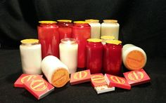 Candle Jars, Candles, Kunst, Candle Mason Jars, Pillar Candles, Lights, Candle