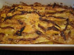 baked yellow squash