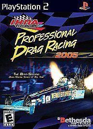 Sony PlayStation 2 IHRA Professional Drag Racing 2005