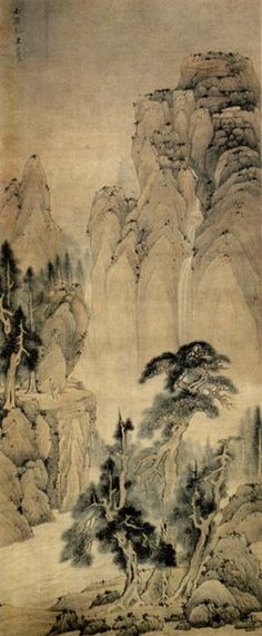 Chinese Landscape, unknown artist