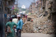 +++ Weiteres schweres Erdbeben in Nepal +++ 17 Tage nach dem ersten #Erdbeben wurde das Land letzte Woche erneut von einem schweren Beben mit einer Stärke von 7,4 erschüttert. Das #Help-Team ist wohlauf.  Hier könnt ihr den Menschen in #Nepal #helfen: https://www.help-ev.de/spenden/onlinespenden/ Foto:Aktion Deutschland Hilft/Schamberger