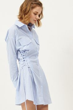 Janet Eyelet Shirt Dress Discover the latest fashion trends online at storets.com
