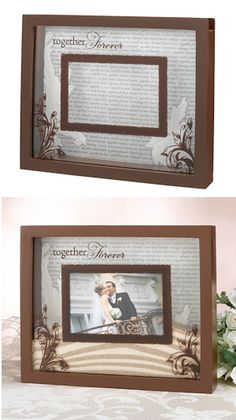 Sand Unity Ceremony Picture frame....