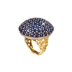 Gevorgian sapphire ring