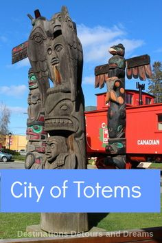Duncan British Columbia on Vancouver Island is known as the City of Totems - take a self-guided totem pole tour Travel Tips Tips Travel Guide Hacks packing tour Travel Tips, Travel Hacks, Travel Packing, Solo Travel, Budget Travel, Travel Guides, Canadian Travel, Visit Canada, Canadian History