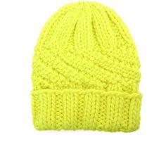 EUGENIA KIM Marley chunky knit beanie hat