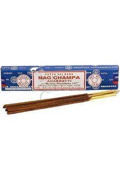 Nag Champa - Agarbatti Sticks Nag Champa Incense, Spiritual Teachers, Sai Baba, Sticks, Smoking, Perfume, Tobacco Smoking, Cigars, Craft Sticks