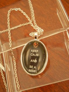 "A last-but-not-least favorite: ""Keep Calm and Be a Rebel"". Haha. Would totally wear this! <3"
