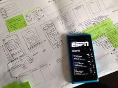 UX for ESPN