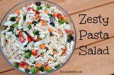 25 Fresh And Colorful Pasta Salads   TheSuburbanMom