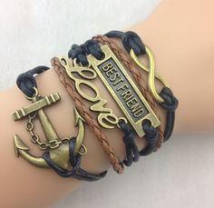 Best Friend Love Anchor - Florence Scovel